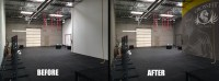 Mural Painting for Crossfit Gyms, Yoga, Health and