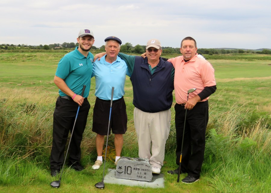 Greg, Tommy, Dylan and Frank - G Golf Ireland
