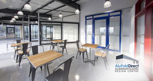 AluFoldDirect Aluminium Glazing Design Centre for press