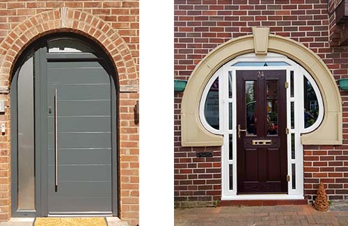 Force 8's new unusual composite door designs