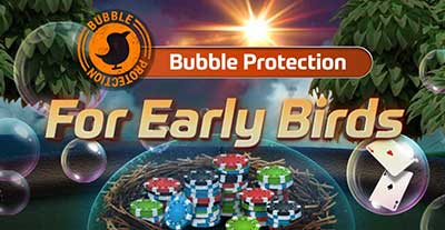 GGPoker Bubble Protection for Early Birds