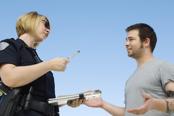 Is Verbal Abuse Against Police Officers Protected