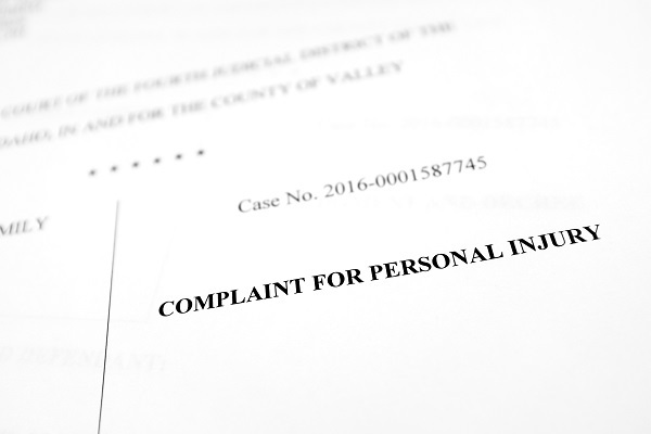The Basics of a Personal Injury Complaint in Las Vegas