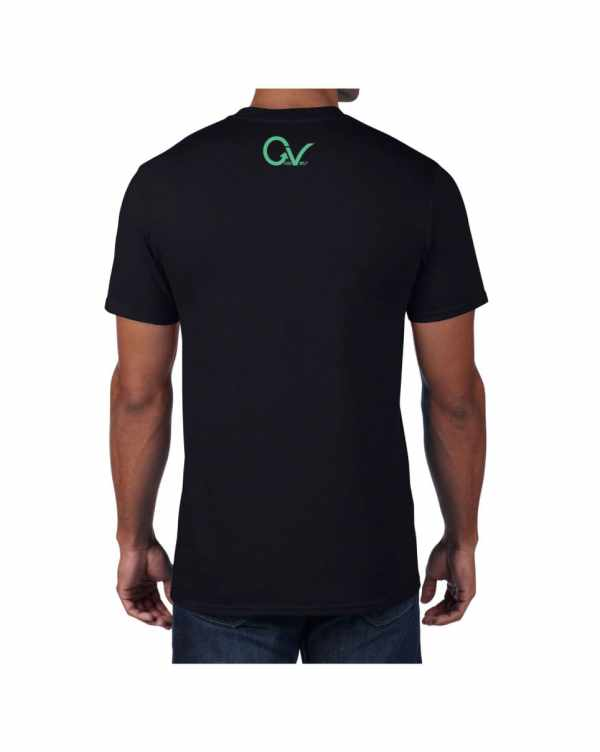 Good Vibes Dark Teal Black T-shirt