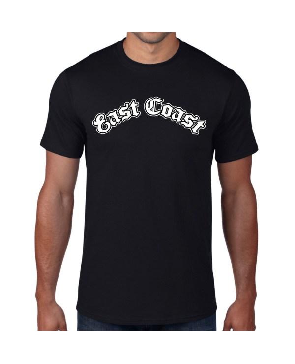 Good Vibes East Coast Black T-shirt