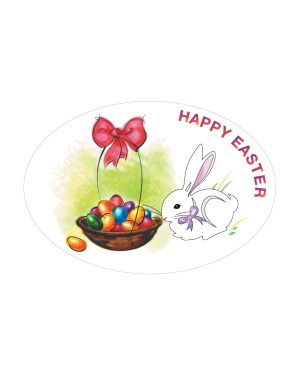 "Easter Magnet or Sticker for Indoor or Outdoor Use 6"" x 4"""