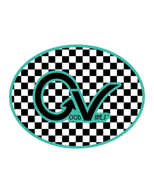 Good Vibes Teal Black GV Logo