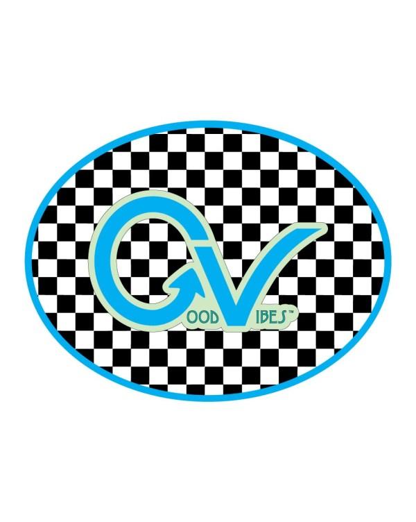 Good Vibes Teal Light Blue Black