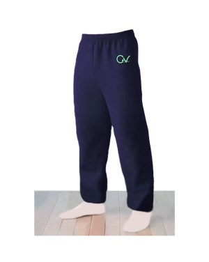 Good Vibes Logo Blue Sweatpants