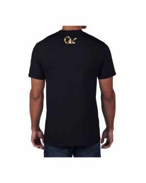Good Vibes Cheetah Claw Black T-shirt
