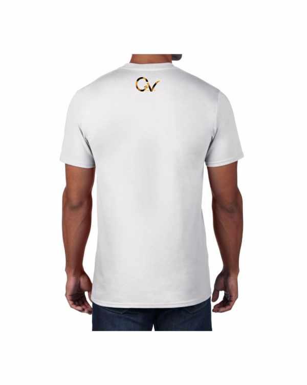 Good Vibes Cheetah Claw White T-shirt