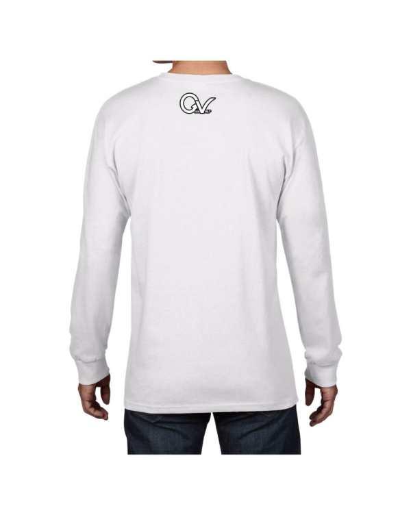 Good Vibes East Coast White Long Sleeve T-shirt