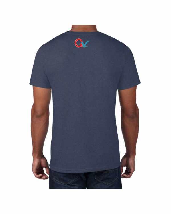 Good Vibes GV Multi Color Blue T-shirt