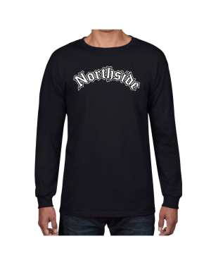 Good Vibes Northside Logo Black Long Sleeve T-shirt