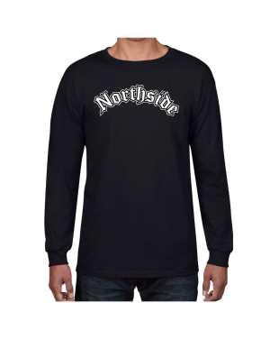 Good Vibes Northside Logo Black Long Sleeve T-shirt