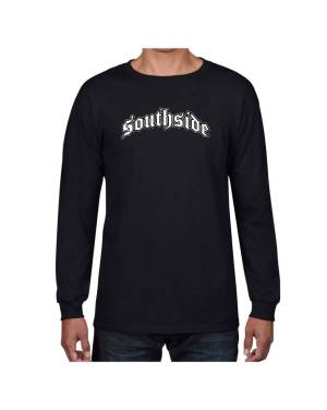 Good Vibes Southside Black Long Sleeve T-shirt