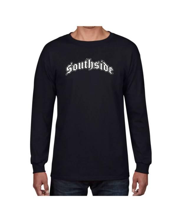 Good Vibes Southside Black Long Sleeve T-shirt