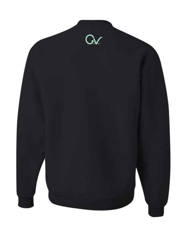 Good Vibes Teal Good Vibes Black Sweatshirt