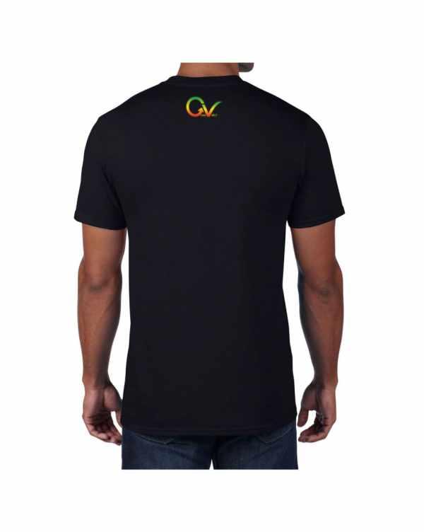 Good Vibes Rastafarian GV Black T-shirt