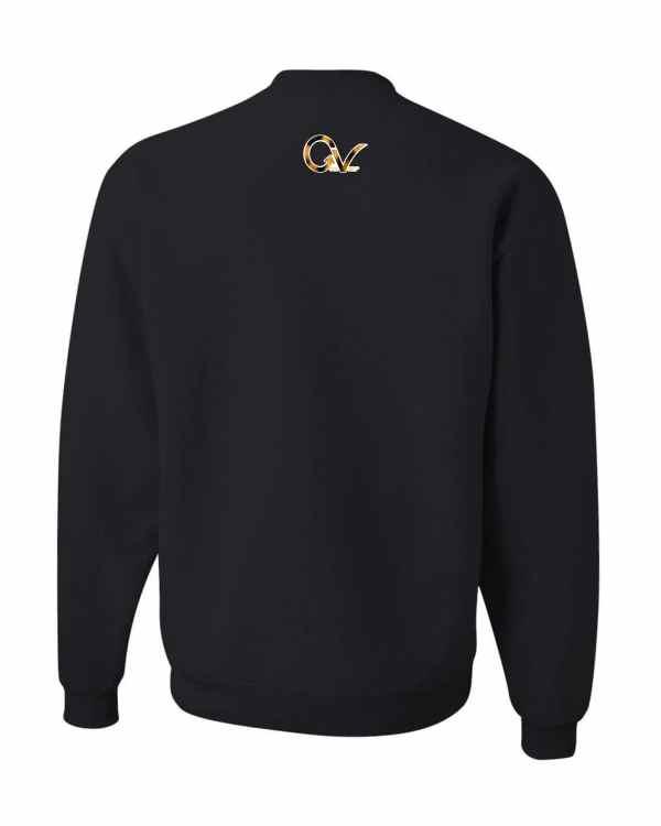 Good Vibes Cheetah Claw Black Sweatshirt
