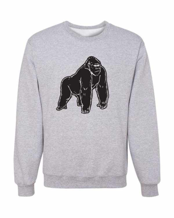 Good Vibes Black Gorilla Gray Sweatshirt