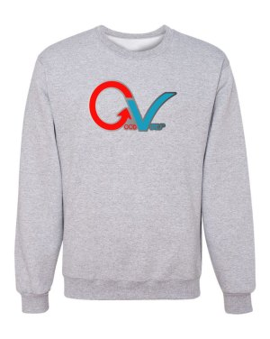 Good Vibes GV Multi Color Gray Sweatshirt