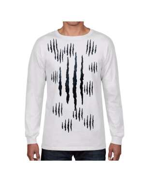Good Vibes™ Panther Claw Long Sleeve T shirt. Made of 5.6 oz., 50/50 Heavyweight Blend T-Shirt
