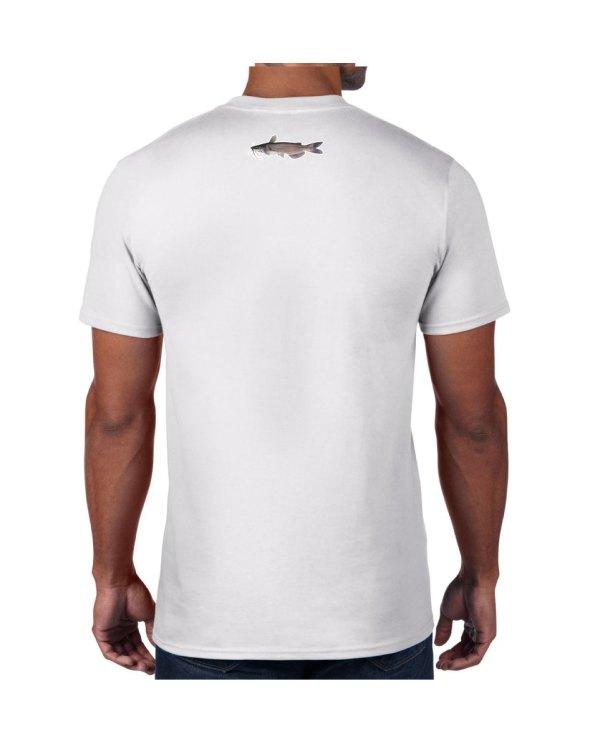 Catfish White T-shirt 5.6 oz., 50/50 Heavyweight Blend