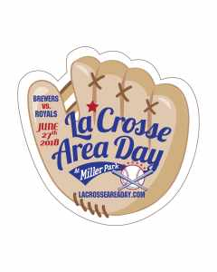 La Crosse Area Day Glove for Brewers Game