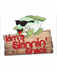 Kims Skinnin Shack Sign