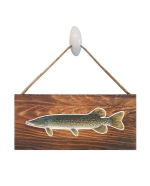 """Good Vibes™ Northern Dark Wood Sign. Size: 12"""" W x 5.5"""" H - With Rope 11"""" H -.30 Thick"""