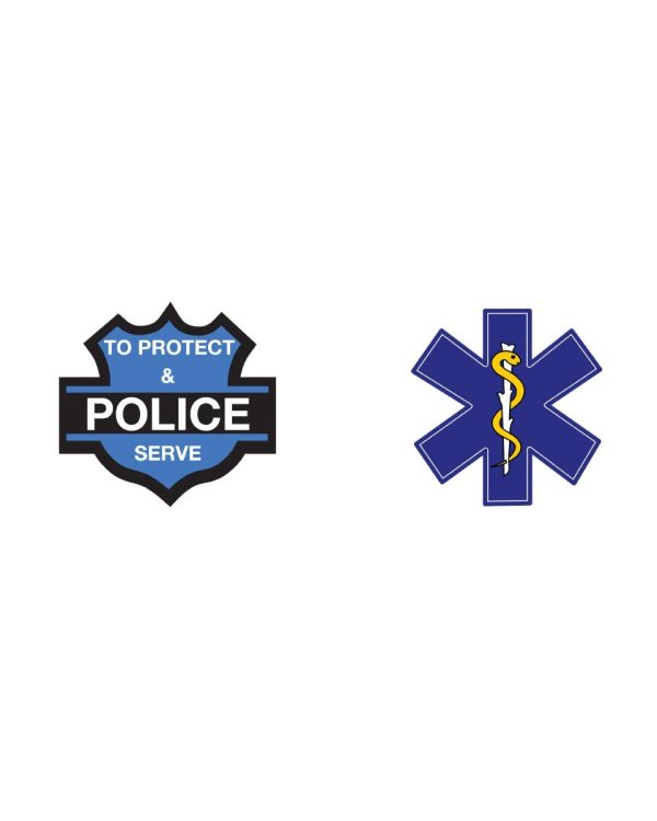 Police, AMA Magnet Lot Limited Sale! Only 2 Sets Of Magnets Available