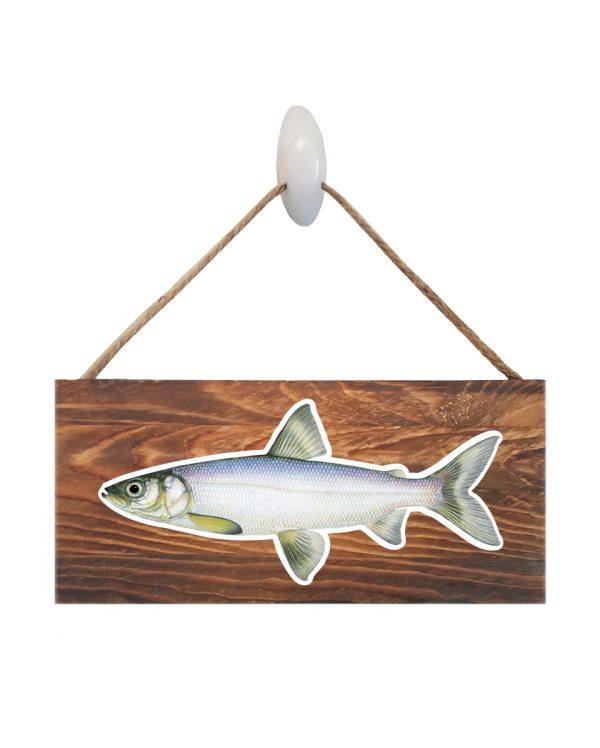 Lake Herring Wood Sign