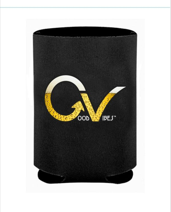Beer GV Black Koozie
