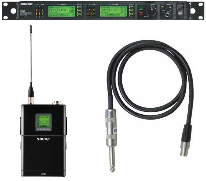 Shure UR14D Dual Wireless Receiver