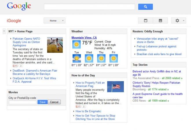 Goodbye iGoogle, your time has come - gHacks Tech News