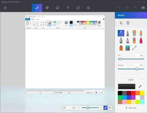 Microsoft Paint 3d Comparison - Ghacks Tech