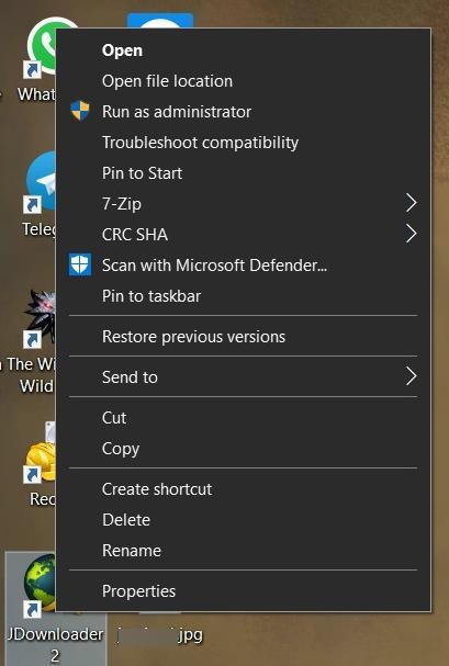 Come correggere il testo sfocato nei programmi su Windows 10 - passaggio 1