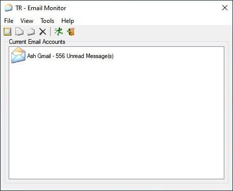 Interfaccia di TaskRunner Email Monitor
