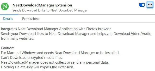 Perfetta integrazione con il browser di Download Manager