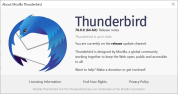 Thunderbird 78.8.0 security update is out