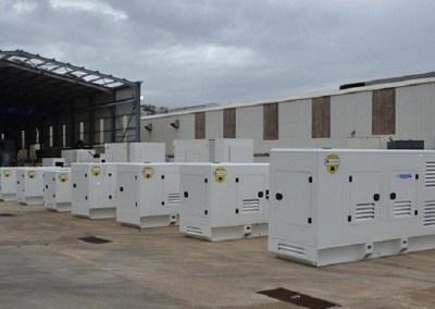John Deere Engines Powering Ghaddar Generators