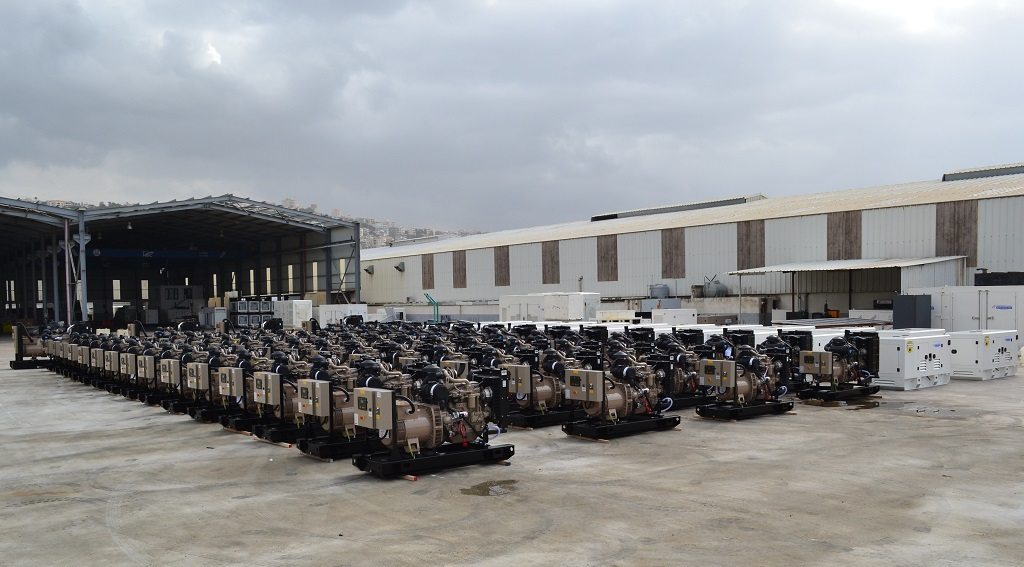 Ghaddar Generators Powered by John Deere Going Global.