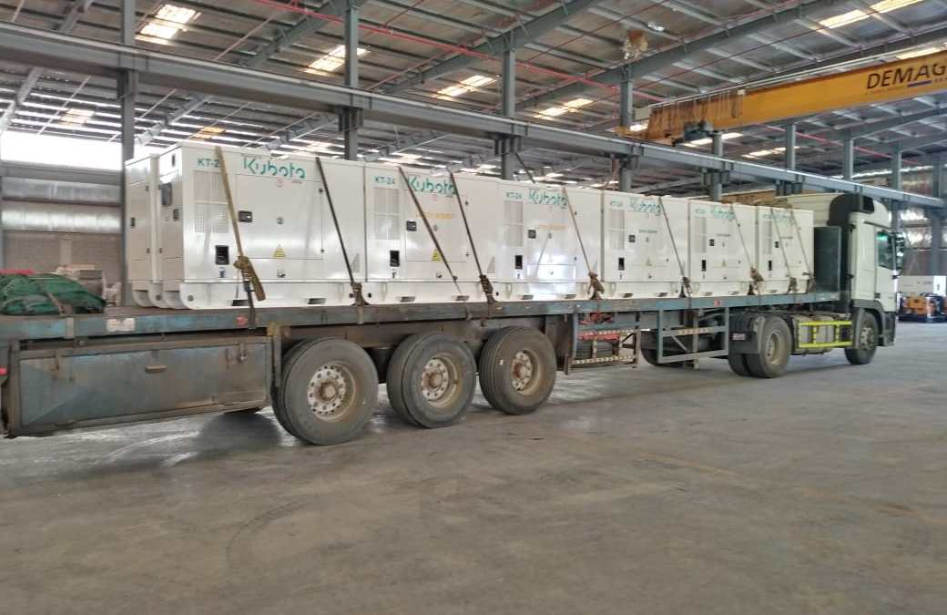 Ghaddar Generators Powered by Kubota Engines in Saudi Arabia