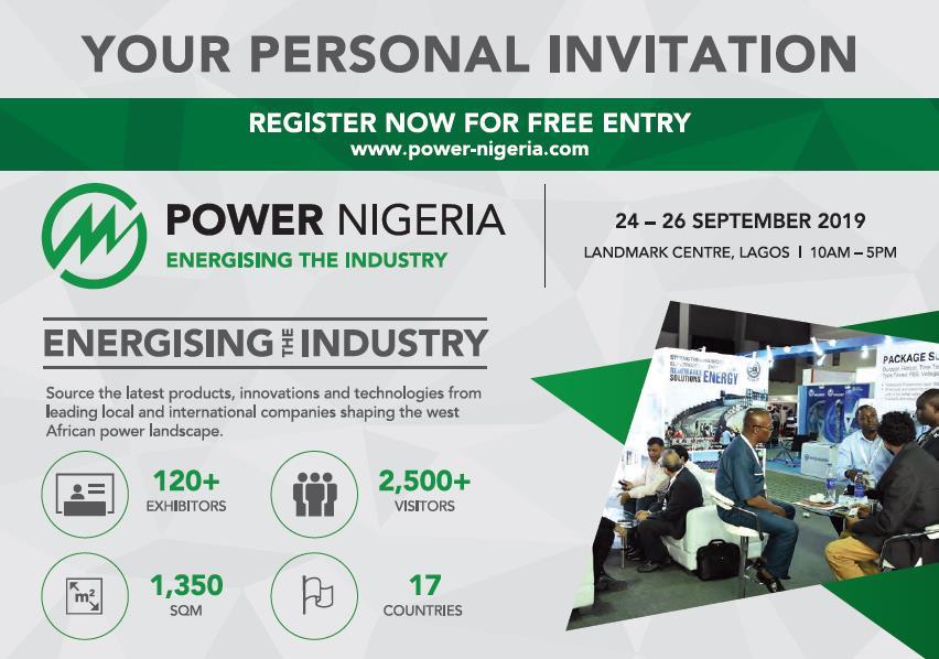 PowerNigeria 2019 Invitation