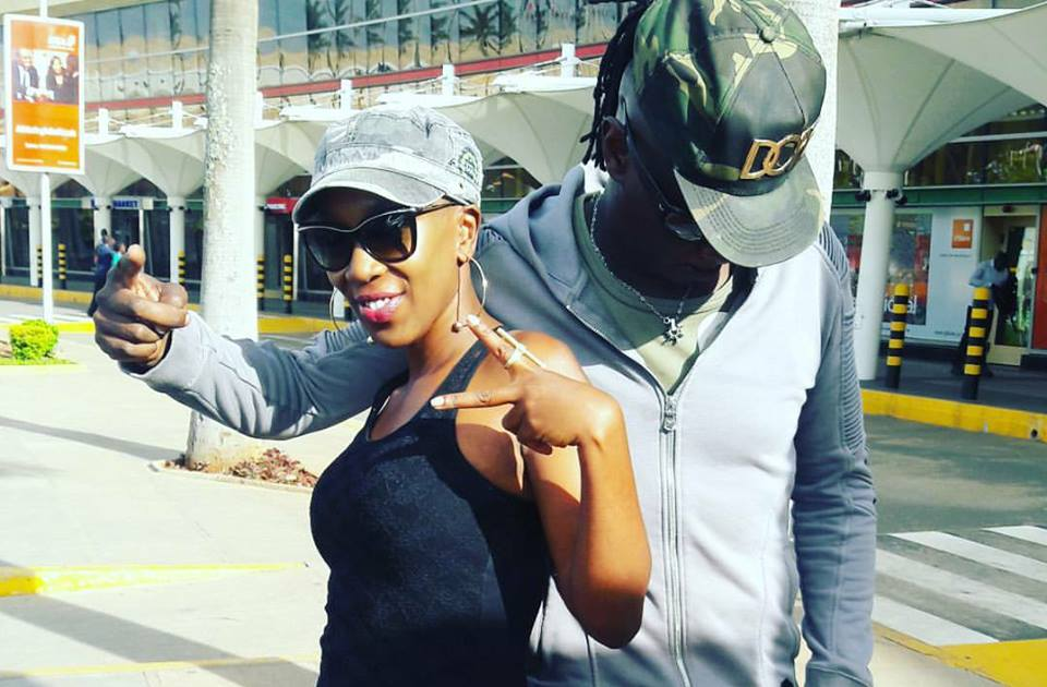 Wahu celebrates her 37th birthday in Dubai with her sweetheart Nameless (Photos)