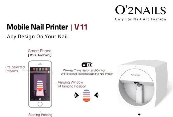 FC Beauty Group Launch Digital Nail Printer