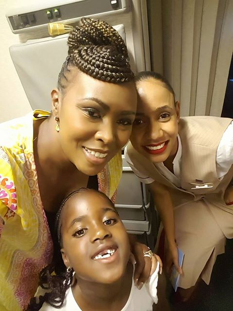 Caroline Mutoko's daughter