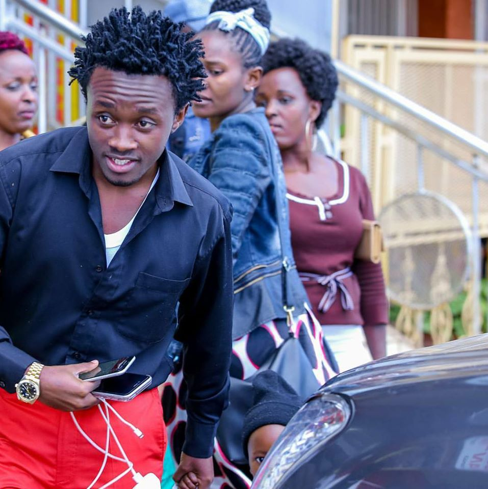 Singer Bahati introduces his 2 year old biological daughter that no one knew anything about child (Photos)
