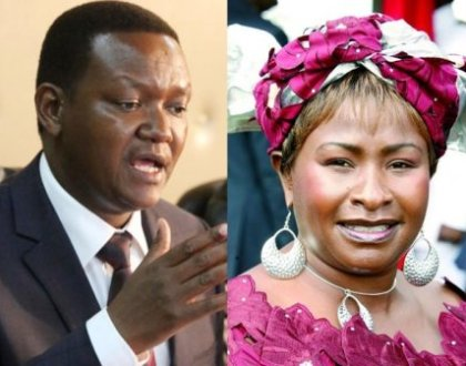 """""""We will give Ndeti a job if she is interested"""" says Alfred Mutua"""